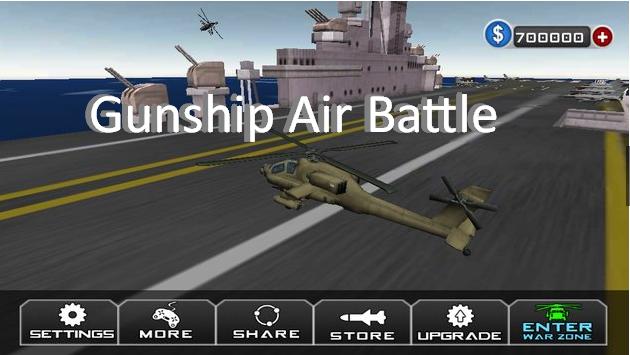 Gunship Luftkampf