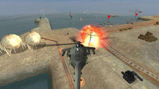 GUNSHIP BATTLE Helicopter 3D MOD APK Android Free Download