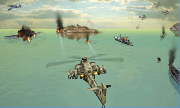 gunship strike 3d APK Android