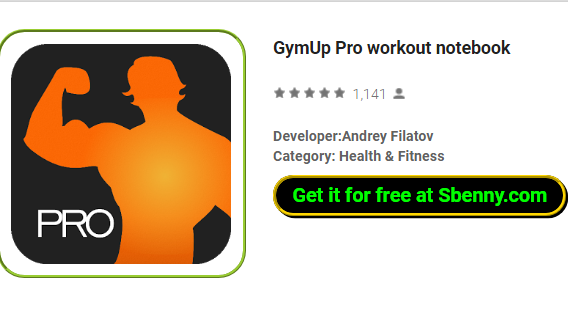 GymUp Pro workout notebook APK for Android Download