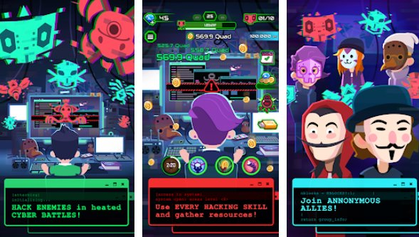 Hacking Hero Free In-App Purchases MOD APK Free Download
