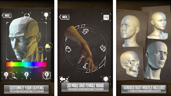 handy art reference tool APK Android