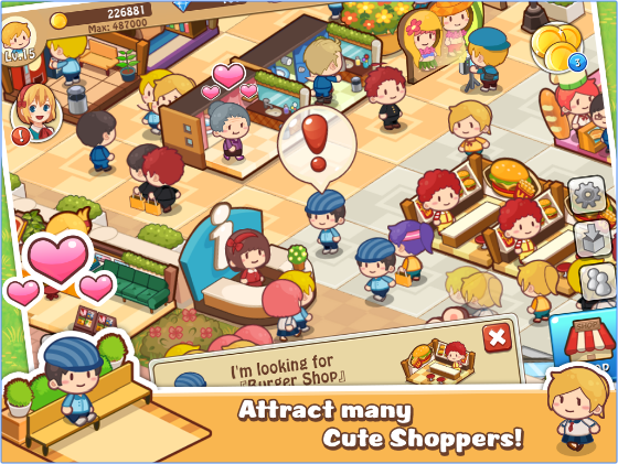 happy mall story sim game APK Android