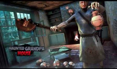 Haunted Grandpa House Horror Unlimited Money MOD APK