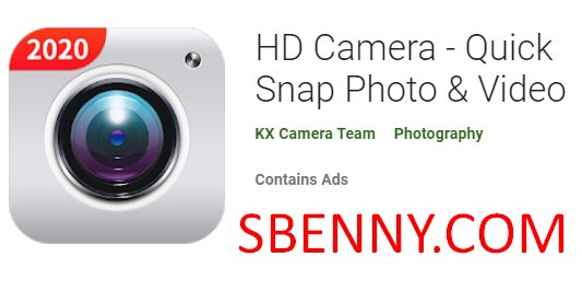 HD фотоаппарат, быстрое фото и видео