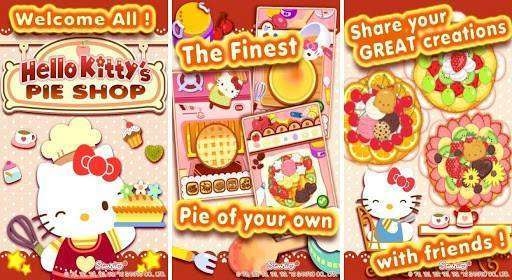 Hello Kitty's Pie Shop Full APK Android Game Free Download