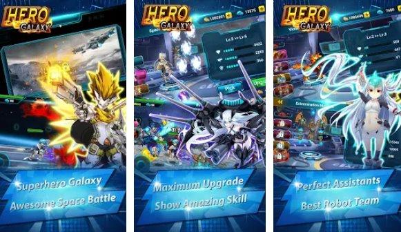 hero galaxy space wars premium alien defender APK Android