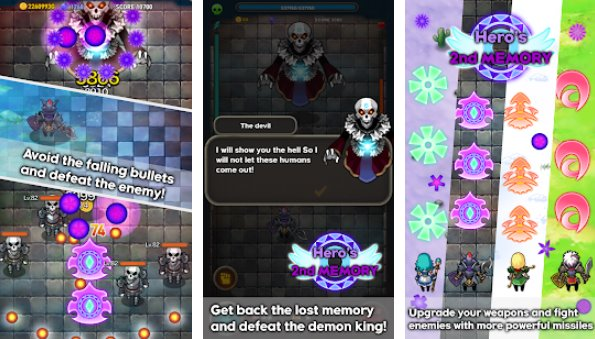 hero s 2nd memory shooting rpg APK Android