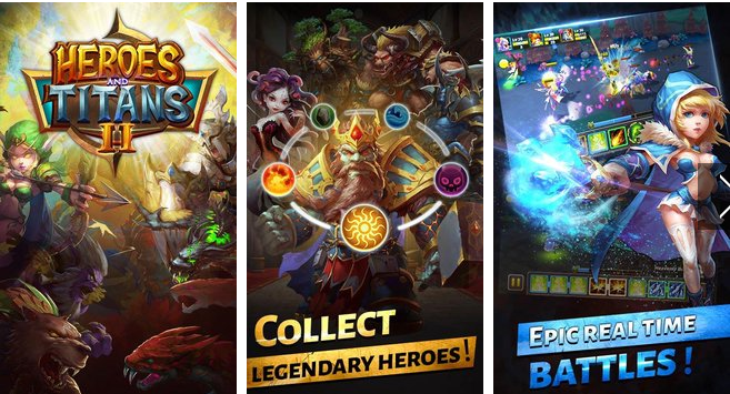 heroes and titans APK Android
