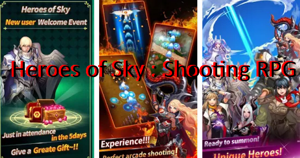 Heroes of Sky : Shooting RPG MOD APK for Android Download