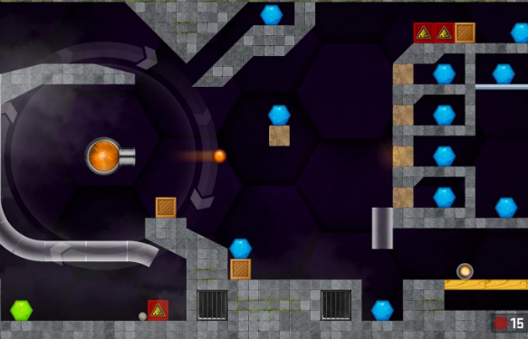 hexasmash 2 physics ball shooter puzzle APK Android