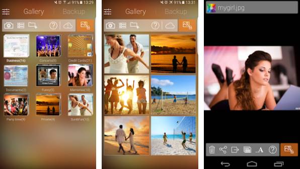 скрыть картинки, скрыть фотографии и видео галерея vault APK Android