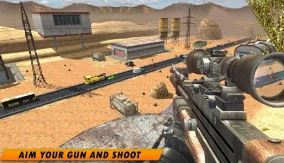 sniper 3d killer zombie hunter mod apk