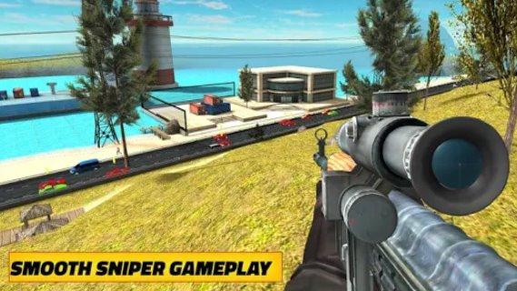 sniper shooter mod apk