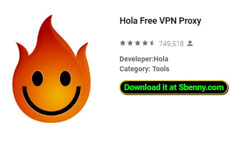 Hola Free VPN Proxy APK Android Free Download