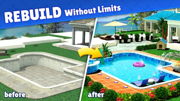 Home Design Caribbean Life Unlimited Jewels Mod Apk Free