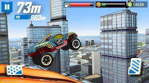 Hot Wheels course off Android APK