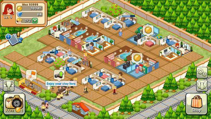 Hotel Story: Resort Simulation MOD APK Android Free Download