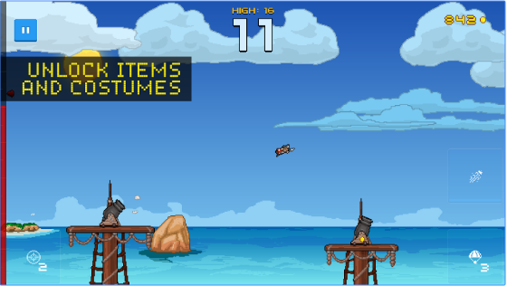 human cannonball APK Android