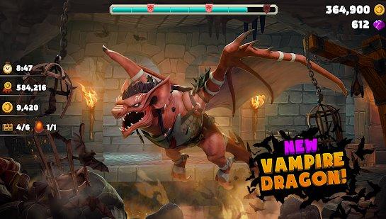 dragón hambriento APK Android