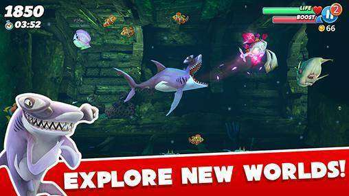 Hungry Shark World MOD APK Android Game Free Download