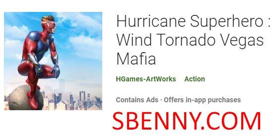huracán superhéroe viento tornado vegas mafia