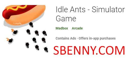 juego de simulador de hormigas inactivas
