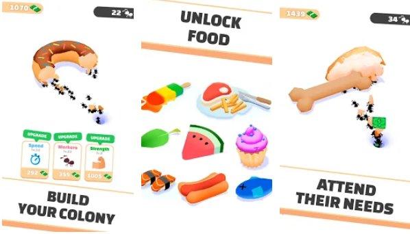 juego de simulador de hormigas inactivas APK Android