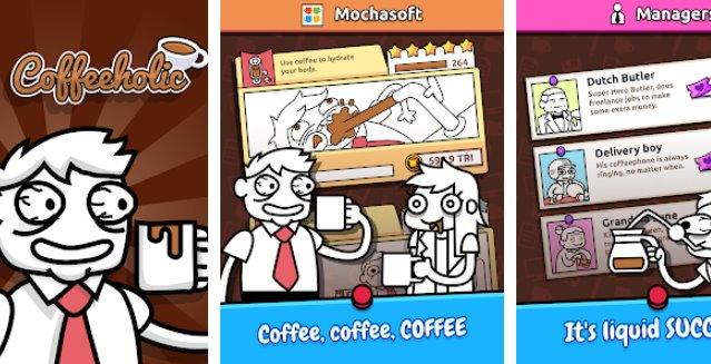 Idle Coffee Inc  - Caffeine Rush Simulator Clicker + MOD