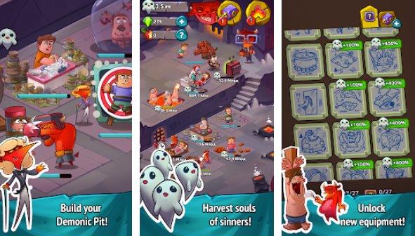 праздные герои ада кликер и симулятор про APK Android