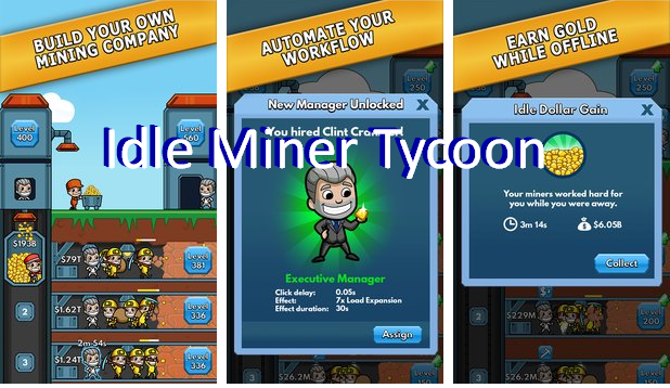 Idle Miner Tycoon Unlimited Money MOD APK Android Download