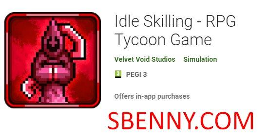 Idle Skilling - RPG Tycoon Game + MOD