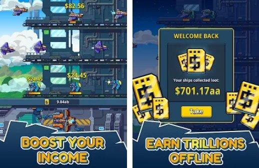 Idle Space Cargo Empire Unlimited Money MOD APK Download