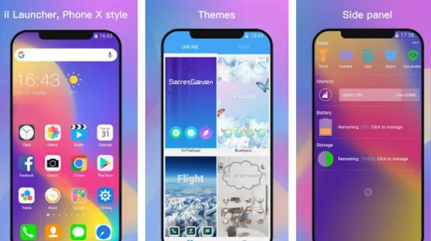 ii Launcher for Phone 8 & Phone X Version Unlocked MOD APK