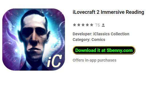 iLovecraft 2 Immersive Reading Paid APK Free Download