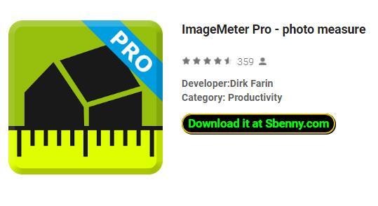 imagemeter pro photo mesure