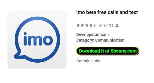 imo app apk download free