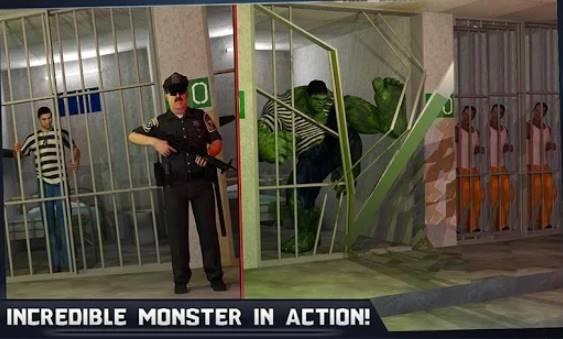 Unglaubliche Monster Held Super Gefängnis Action-Spiele