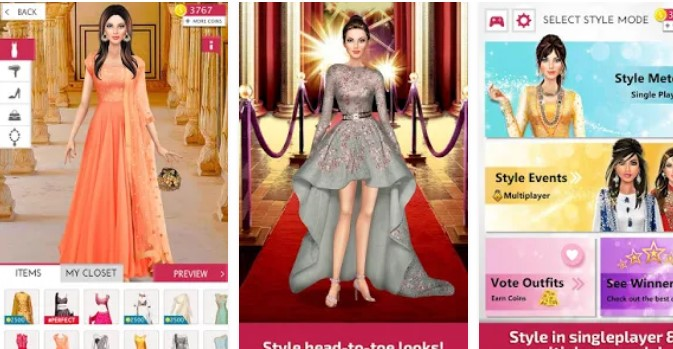 Indian Fashion Stylist Unlimited Coins Mod Apk Download