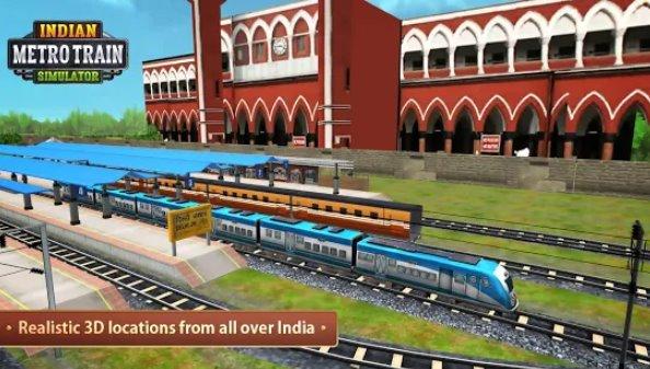 indischer U-Bahn-Simulator