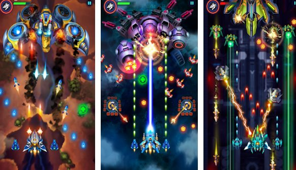 Infinity Shooting: Galaxy War Unlimited gems MOD APK Download