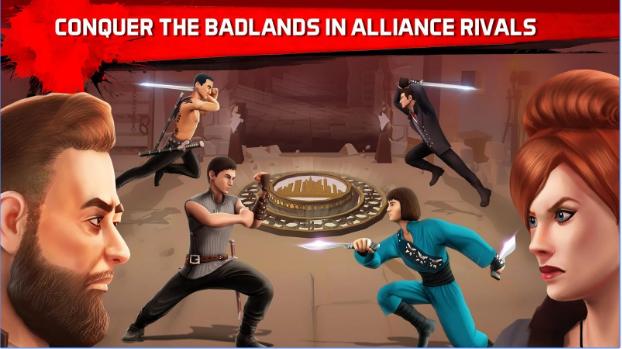 in die Badlands Klinge Schlacht APK Android