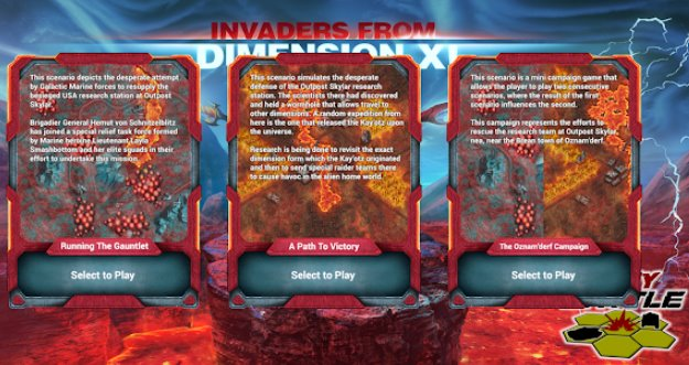invaders from dimension x APK Android
