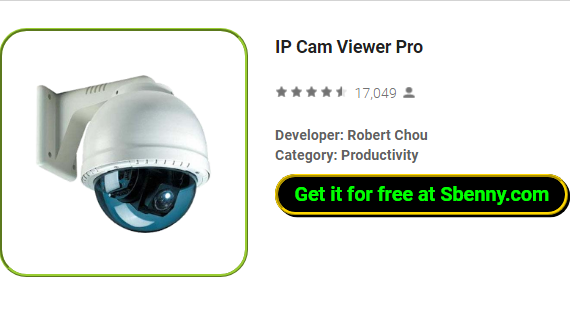 IP Cam Viewer Pro APK for Android Free Download