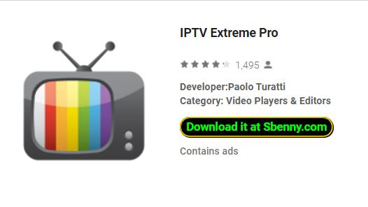 Download do Android IPTV Extreme Pro MOD APK