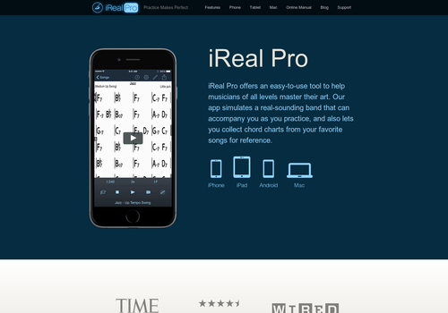ireal pro music book and play along