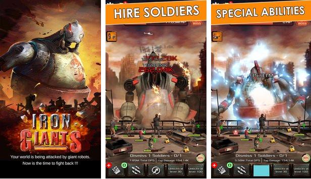 gigantes de hierro clic héroes