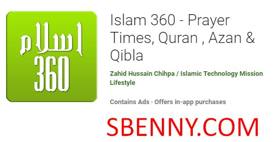islam 360  prayer times quran azan and qibla