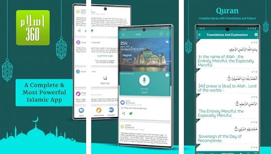 islam 360  prayer times quran azan and qibla APK Android
