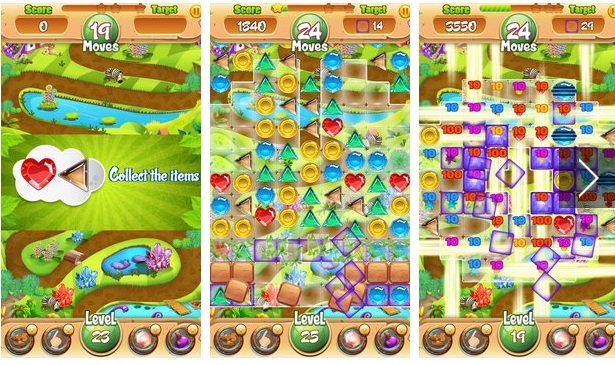 Jewels Garden APK Android